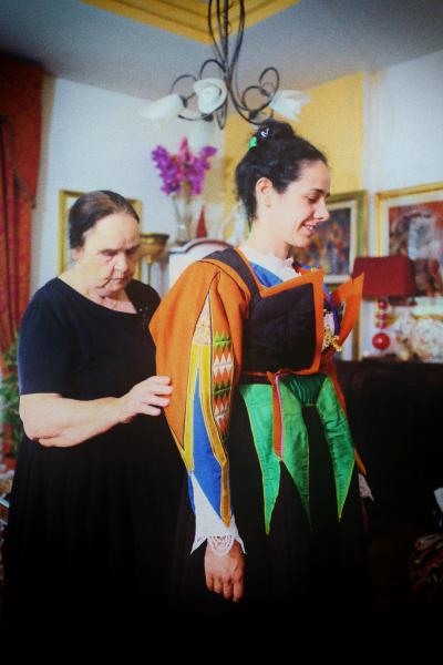 Orgosolo ed il suo abito tradizonale